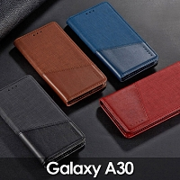 Samsung Galaxy A30 Canvas Flip Card Case