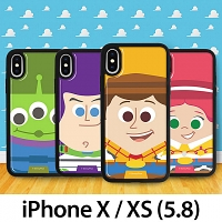 iPhone XS (5.8) Toy Story Series Soft Back Case