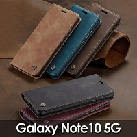 Samsung Galaxy Note10 5G Retro Flip Leather Case