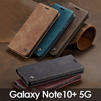 Samsung Galaxy Note10+ 5G Retro Flip Leather Case