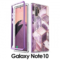 i-Blason Cosmo Slim Designer Case (Purple Marble) for Samsung Galaxy Note10