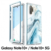 i-Blason Cosmo Slim Designer Case (Blue Marble) for Samsung Galaxy Note10+ / Note10+ 5G