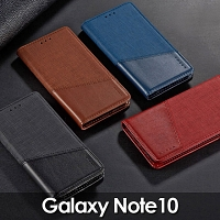 Samsung Galaxy Note10 Canvas Flip Card Case