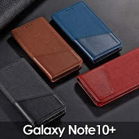 Samsung Galaxy Note10+ Canvas Flip Card Case