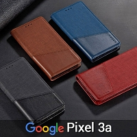 Google Pixel 3a Canvas Flip Card Case