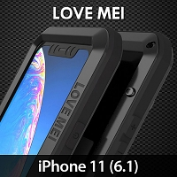 LOVE MEI iPhone 11 (6.1) Powerful Bumper Case