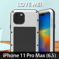 LOVE MEI iPhone 11 Pro Max (6.5) Powerful Bumper Case