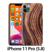 iPhone 11 Pro (5.8) Woody Patterned Back Case