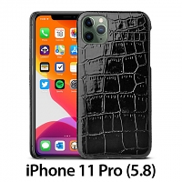 iPhone 11 Pro (5.8) Crocodile Leather Back Case