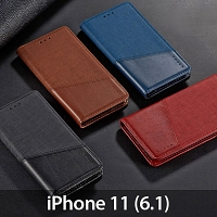 iPhone 11 (6.1) Canvas Flip Card Case