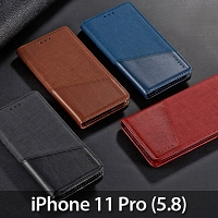 iPhone 11 Pro (5.8) Canvas Flip Card Case