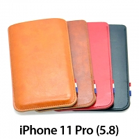 iPhone 11 Pro (5.8) Leather Sleeve