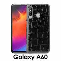 Samsung Galaxy A60 Crocodile Leather Back Case