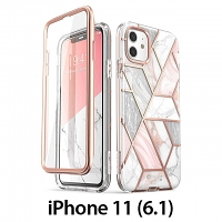 i-Blason Cosmo Slim Designer Case (Pink Marble) for iPhone 11 (6.1)