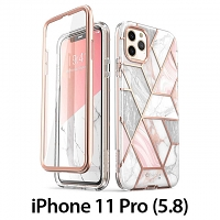 i-Blason Cosmo Slim Designer Case (Pink Marble) for iPhone 11 Pro (5.8)