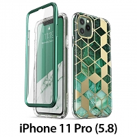 i-Blason Cosmo Slim Designer Case (Green Marble) for iPhone 11 Pro (5.8)