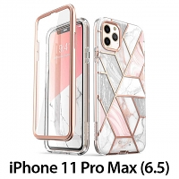 i-Blason Cosmo Slim Designer Case (Pink Marble) for iPhone 11 Pro Max (6.5)