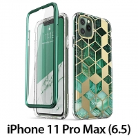 i-Blason Cosmo Slim Designer Case (Green Marble) for iPhone 11 Pro Max (6.5)