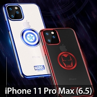Marvel Series Electroplating TPU Soft Case for iPhone 11 Pro Max (6.5)