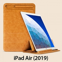iPad Air (2019) 2-in-1 Leather Sleeve Stand