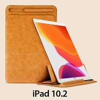 iPad 10.2 2-in-1 Leather Sleeve Stand