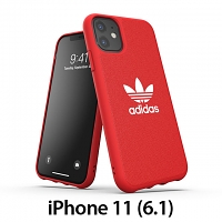 Adidas Moulded Case CANVAS FW19 (Scarlet) for iPhone 11 (6.1)