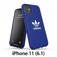 Adidas Moulded Case CANVAS FW19 (Power Blue) for iPhone 11 (6.1)