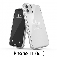 Adidas Protective Clear Case Big Logo FW19 (Clear) for iPhone 11 (6.1)