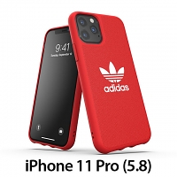 Adidas Moulded Case CANVAS FW19 (Scarlet) for iPhone 11 Pro (5.8)