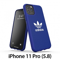 Adidas Moulded Case CANVAS FW19 (Power Blue) for iPhone 11 Pro (5.8)