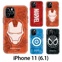 iPhone 11 (6.1) Marvel Series Combo Case