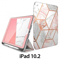i-Blason Cosmo Slim Designer Case (Pink Marble) for iPad 10.2