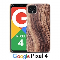 Google Pixel 4 Woody Patterned Back Case