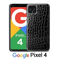 Google Pixel 4 Crocodile Leather Back Case
