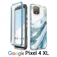 i-Blason Cosmo Slim Designer Case (Blue Marble) for Google Pixel 4 XL