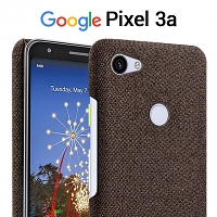 Google Pixel 3a Fabric Canvas Back Case