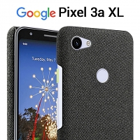 Google Pixel 3a XL Fabric Canvas Back Case
