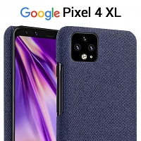 Google Pixel 4 XL Fabric Canvas Back Case