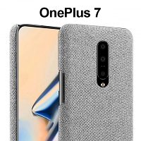 OnePlus 7 Fabric Canvas Back Case
