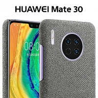 Huawei Mate 30 Fabric Canvas Back Case