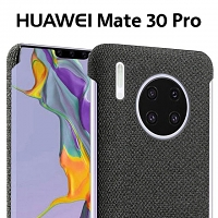 Huawei Mate 30 Pro Fabric Canvas Back Case