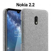 Nokia 2.2 Fabric Canvas Back Case