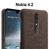 Nokia 4.2 Fabric Canvas Back Case