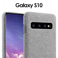 Samsung Galaxy S10 Fabric Canvas Back Case