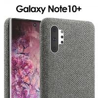 Samsung Galaxy Note10+ Fabric Canvas Back Case