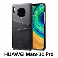 Huawei Mate 30 Pro Claf PU Leather Case with Card Holder