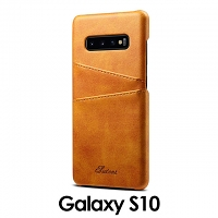 Samsung Galaxy S10 Claf PU Leather Case with Card Holder