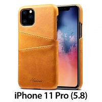 iPhone 11 Pro (5.8) Claf PU Leather Case with Card Holder