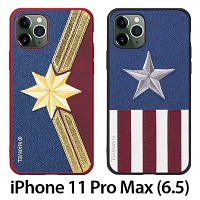 Marvel Series Embroidery TPU Case for iPhone 11 Pro Max (6.5)
