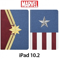 Marvel Series Embroidery Flip Case for iPad 10.2